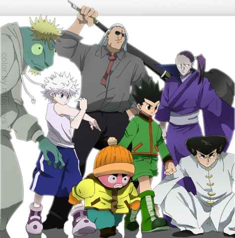 hunter x hunter 350 scans raw